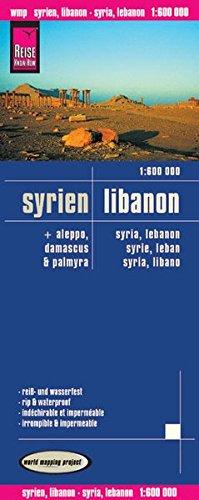 Syria/Lebanon (German and English Edition): Reise Know-How Verlag