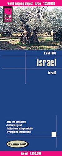 9783831771608: Israel, mapa de carreteras impermeable. Escala 1:250.000. Reise-Know-How.