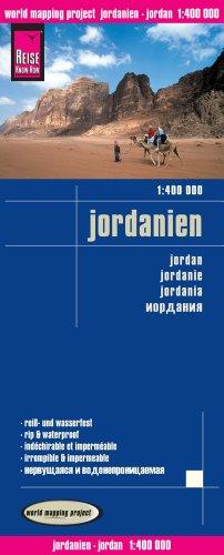 Jordan Travel Map (Jordanien) 1:400 000. Waterproof. - Reise Know-How Verlag