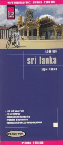 9783831771967: Sri Lanka, mapa de carreteras impermeable. Escala 1:500.000. Reise-Know-How.