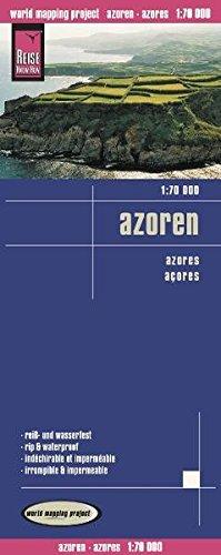 9783831772070: Azores, mapa de carreteras impermeable. Escala 1:70.000. Reise-Know-How.