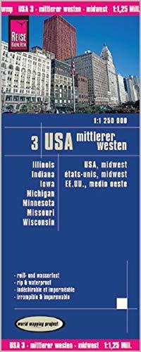 9783831772179: EE.UU./USA Norte: Idaho, Montana, Wyoming, Dakota del norte, Dakota del Sur y Nebraska. (1125m)