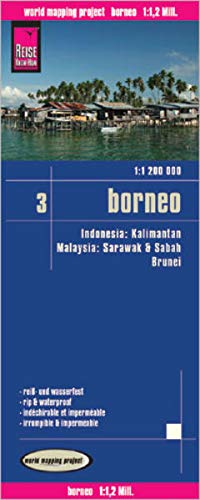 9783831772346: Indonesia 3: Borneo rkh r/v (r) wp GPS (112m)