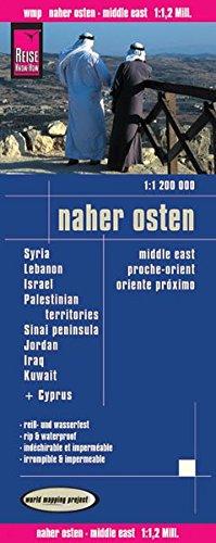 9783831772407: Reise Know-How Landkarte Naher Osten (1:1.200.000) (112m)