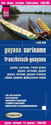9783831772636: Guyana, Suriname, Franzosisch-Guayana = Guyana, Suriname, French Guiana = Guyana, Suriname, Guyane = Guyan, Surinam, Guayana Francesa = Gaiana, Surinam, Frantsuzskaia Gviana