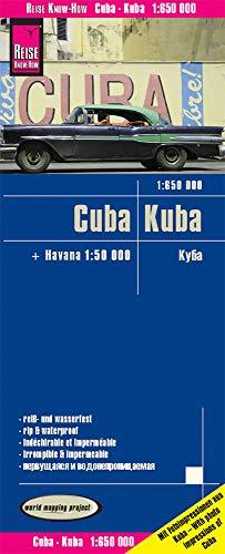 9783831773121: Cuba, mapa impermeable de carreteras. Escala 1:650.000 impermeable. Reise Know-How.