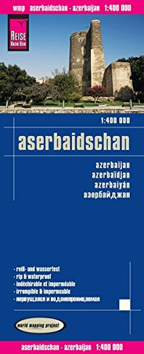 9783831773329: Reise Know-How Landkarte Aserbaidschan 1 : 400.000