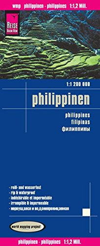 9783831773428: Philippinen 1 : 1.200.000 (English, Spanish, French, German and Russian Edition)