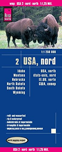 9783831773534: USA 2 North 2016: REISE.3280 (German Edition)