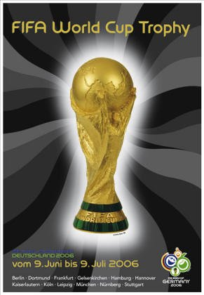 9783831823062: WM World Cup Trophy Poster