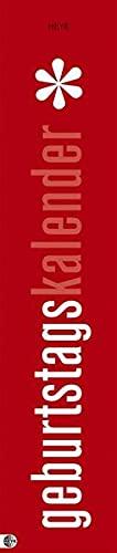 9783831836628: Geburtstagskalender Mini-long: Jahresunabhängig