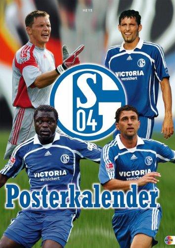 9783831838240: Schalke 04 Posterkalender 2008