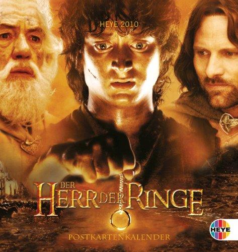 Der Herr der Ringe 2010. Postkartenkalender (9783831850938) by John R. R. Tolkien