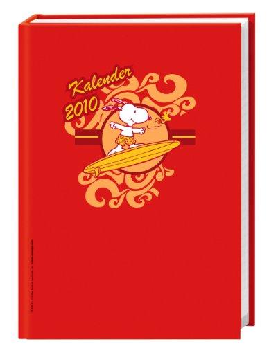 9783831852642: Snoopy Kalenderbuch A5 2010: 12-Monats-Kalendarium