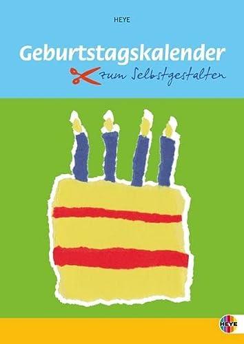 9783831853250: Geburtstagskalender zum Selbstgestalten klein