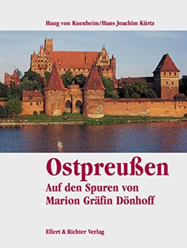 9783831901401: Ostpreußen. Auf den Spuren von Marion Gräfin Dönhoff