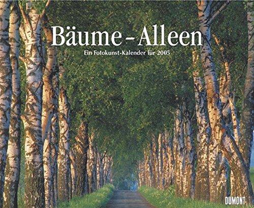 9783832001414: Bäume - Alleen Kalender 2005