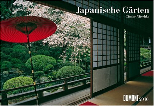 9783832012625: Japanische Gärten 2010. Broschürenkalender