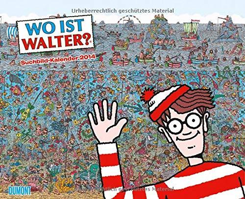 9783832023287: Wo ist Walter? - Kalender 2014: Ein Suchbild-Kalender
