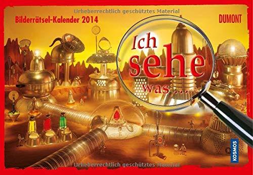 9783832024543: Ich sehe was ...  Bilderr�tsel-Kalender 2014