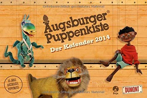 9783832026455: Die Augsburger Puppenkiste - Kinderkalender 2014