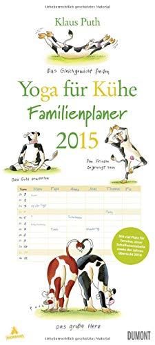9783832028862: Yoga für Kühe - Familien-Kalender 2015