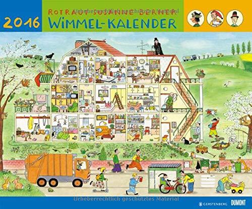 9783832032838: Wimmelkalender 2016