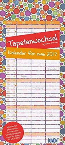 9783832035419: Tapetenwechsel 2017: Kalender für zwei