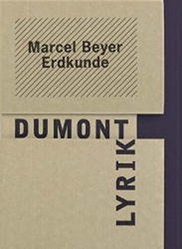 9783832160074: Erdkunde: Gedichte (DuMont Lyrik)