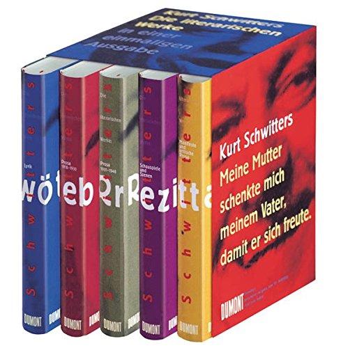 Die literarischen Werke (383217883X) by Kurt Schwitters