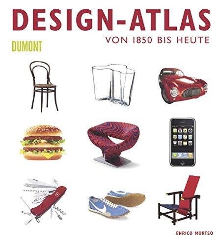 9783832192396: Design-Atlas: Von 1850 bis heute