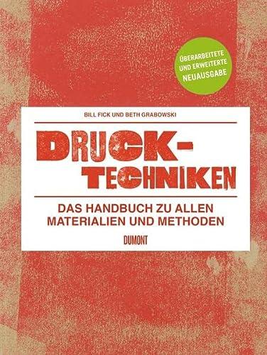 9783832193379: Drucktechniken. Das Handbuch zu allen Materialien und Methoden