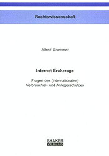 Internet Brokerage: Alfred Krammer