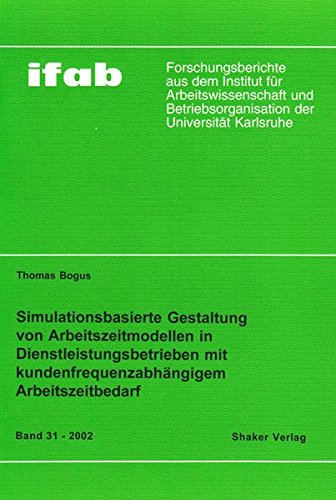 Th Bogus Simuationsbasierte Gestaltung: Bogus, Thomas