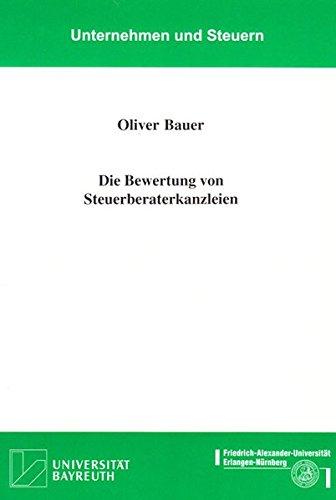 Die Bewertung von Steuerberaterkanzleien: Oliver Bauer