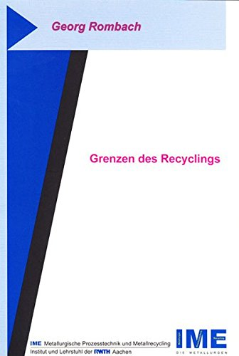 Grenzen des Recyclings (Paperback): Georg Rombach
