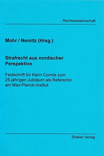 Festschrift für Karin Cornils zum 25-jährigen Jubiläum als Referentin am ...