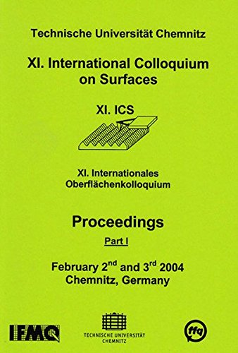 International Colloquium on Surfaces (11.): M. Dietzsch