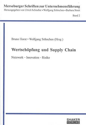 Wertschöpfung und Supply Chain: Bruno Horst