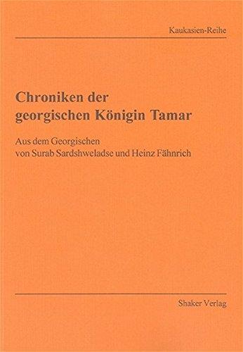 Chroniken der georgischen Königin Tamar: Surab Sardshweladse