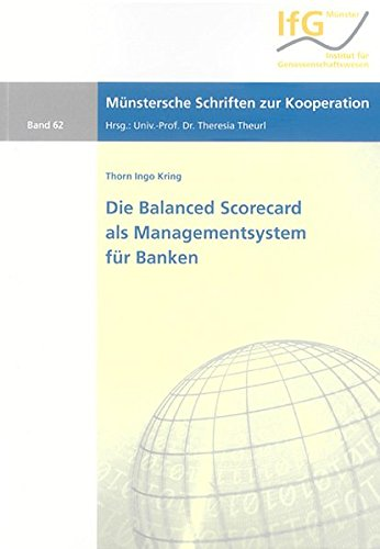 9783832243227: Die Balanced Scorecard als Managementsystem für Banken