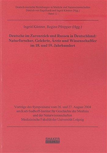 Deutsche im Zarenreich und Russen in Deutschland: Kästner, Ingrid; Pfrepper,