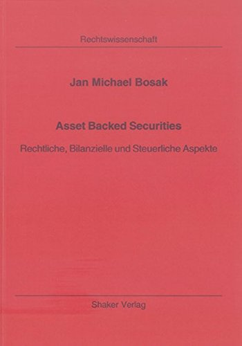 9783832253424: Asset Backed Securities