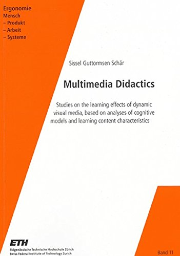 Multimedia Didactics: Studies on the Learning Effects: Sissel Guttormsen Schar