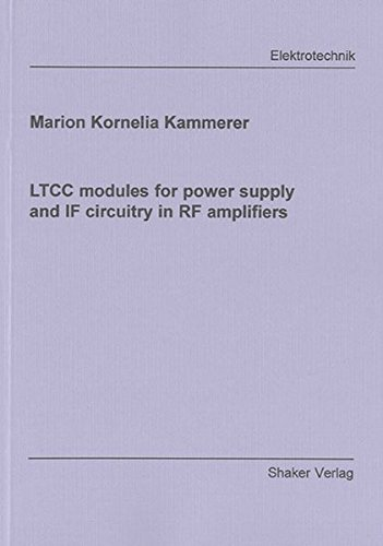 LTCC modules for power supply and IF