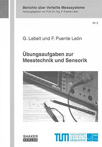9783832271107: Übungsaufgaben zur Messtechnik und Sensorik