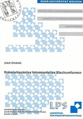 9783832271695: Roboterbasiertes Inkrementelles Blechumformen