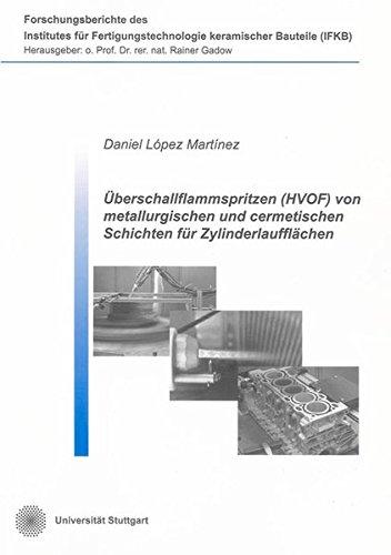 Uberschallflammspritzen (HVOF) von metallurgischen und cermetischen Schichten fur ...
