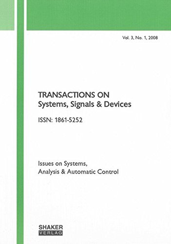 Transactions on Systems, Signals and Devices: Nabil Derbel