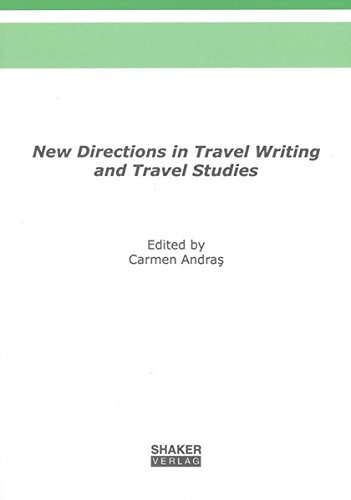 9783832281977: New Directions in Travel Writing and Travel Studies